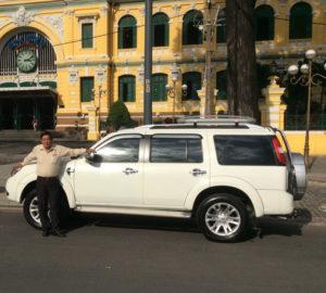 Unser SUV Ford Everest Baujahr 2015