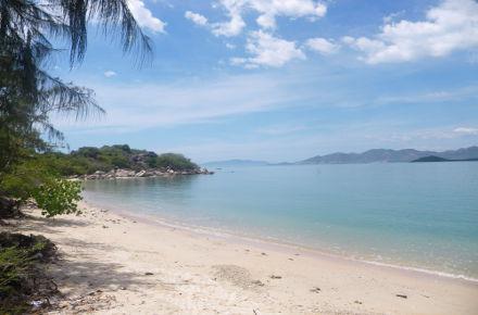 Einsamer Strand in Nha Trang