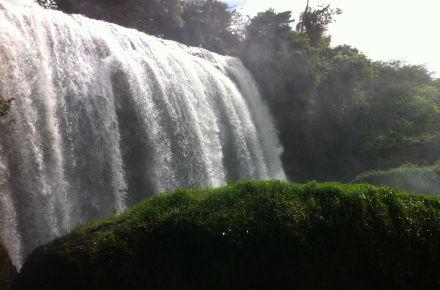 Wasserfall im Hochland