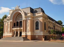 Blick auf das Opernhaus von Saigon