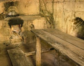 Typische Küche im Cu Chi Tunnelsystem