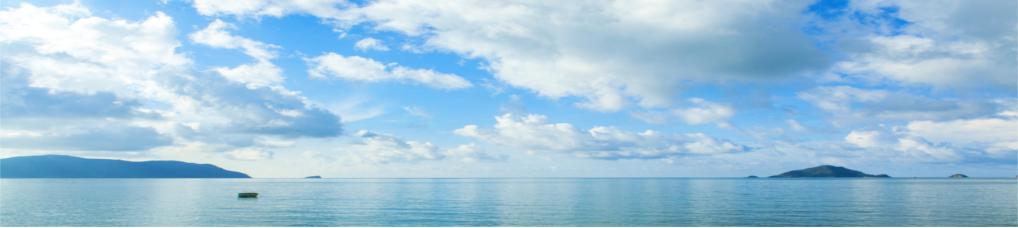 Blick aufs Meer von Con Dao