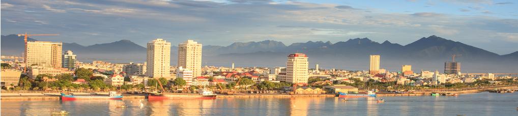 Skyline von Danang