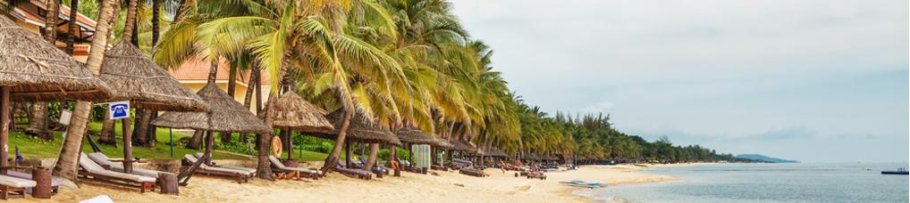 Blick auf den Strand von Phu Quoc