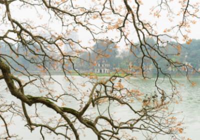 Blick auf den Hoan Kiem See