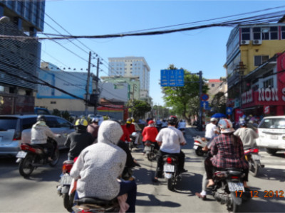 Rollertour in Saigon