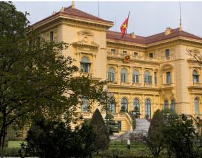 Kolonialgebäude in Hanoi