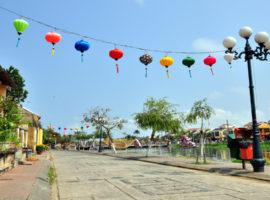 Geschmückte Altstadt von Hoi An