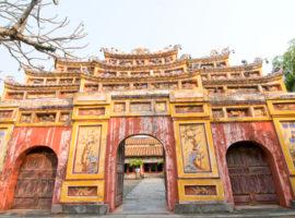 Eingangstor der Zitadelle Hue