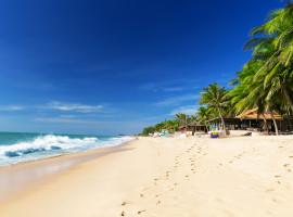 Einsamer Strand in Mui Ne