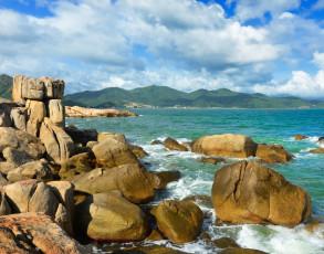 Felsenriff in Nha Trang