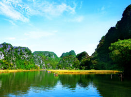 Ninh Binh Flusslauf