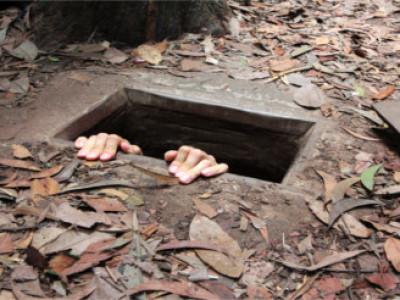 cu chi tunnel halbtagestour
